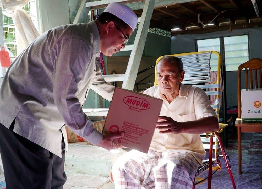 Program Santuni Asnaf Daerah Pendang pada 29 Januari 2020 di Masjid Kampung Pondok Chegar, Simpang Tiga Paya Kelubi, Pendang. (2)