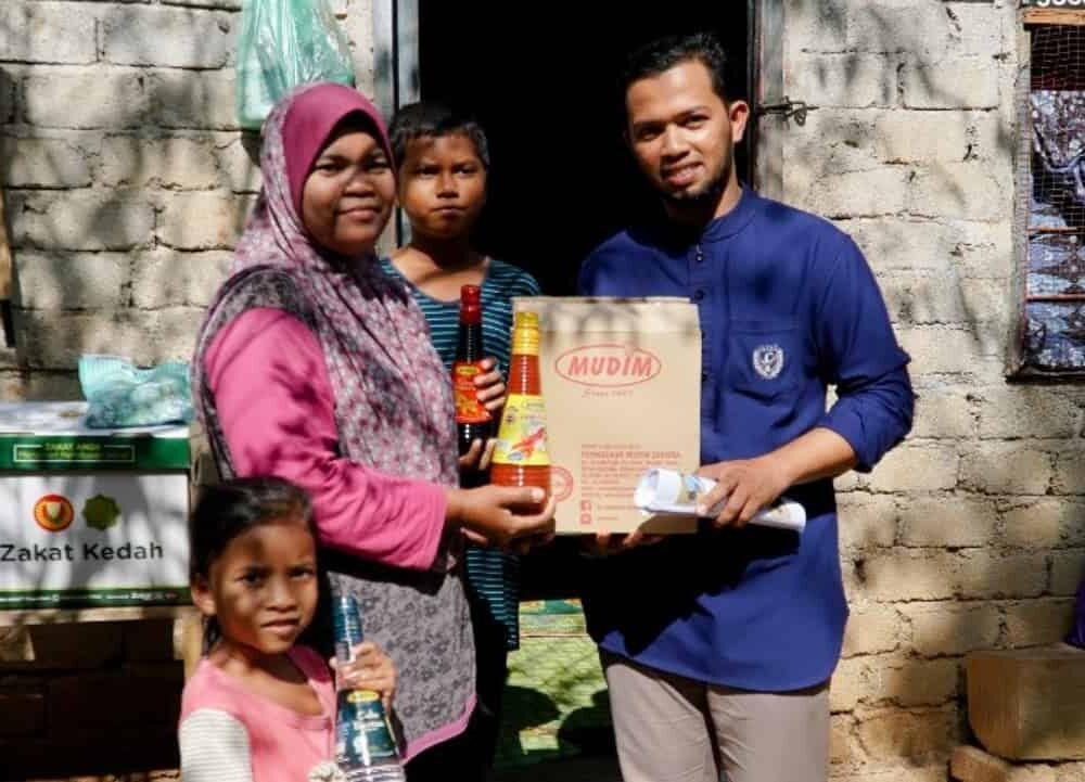 Program Santuni Asnaf Daerah Pendang pada 29 Januari 2020 di Masjid Kampung Pondok Chegar, Simpang Tiga Paya Kelubi, Pendang. (5)
