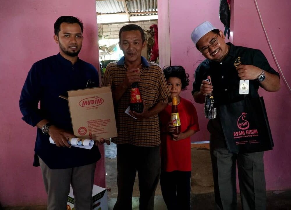 Program Santuni Asnaf Daerah Pendang pada 29 Januari 2020 di Masjid Kampung Pondok Chegar, Simpang Tiga Paya Kelubi, Pendang. (6)